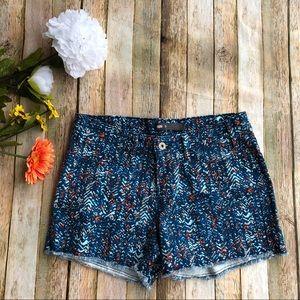 Levi's patterned shorts